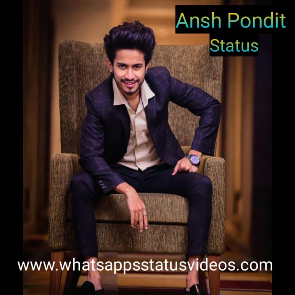 Ansh Pandit Tik Tok Whatsapp Status Video