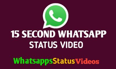 15 Second Whatsapp Status Video Download