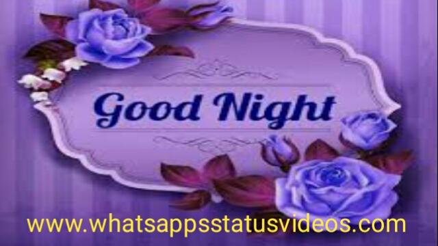 Good Night Wish Good Night Love Whatsapp Status Video