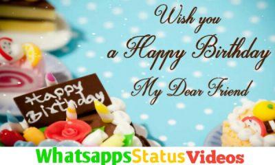 Happy Birthday Wish Status