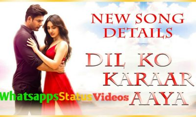 Dil Ko Karaar Aaya Song Status Video