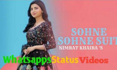 Sohne Sohne Suit Song Nimrat Khaira Whatsapp Status Video