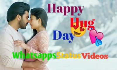 Happy Hug Day Special Whatsapp Status Video