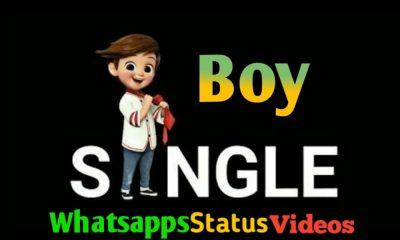 Single Boy Attitude Whatsapp Status Video