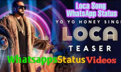 Yo Yo Honey Singh Loca Whatsapp Status Video