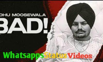 Bad Sidhu Moosewala Whatsapp Status Video
