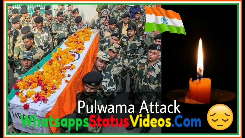 14 February Black Day Pulwama Attack Whatsapp Status Video Download