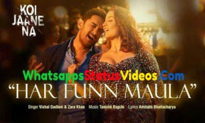Har Funn Maula Song Jonita Gandhi Zara Khan Status Video Download