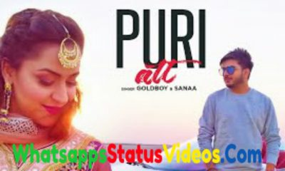 Puri Att Song Goldboy & Sanaa Whatsapp Status Video Download