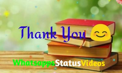 Thank You Whatsapp Status Video Download
