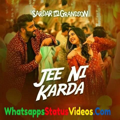 Jee Ni Karda Song Grandson Whatsapp Status Video Download