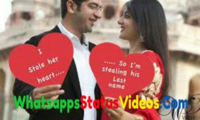 Love Romantic Whatsapp Status Video Song Download 2021