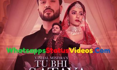 Tu Bhi Sataya Jayega Vishal Mishra Whatsapp Status Video Download