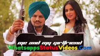 Me And My Girlfriend Song Sidhu Moose Wala Status Video Download